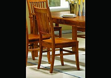 Coaster Home Furnishings 100622 Casual Side Chair Medium Brown Set Of 2