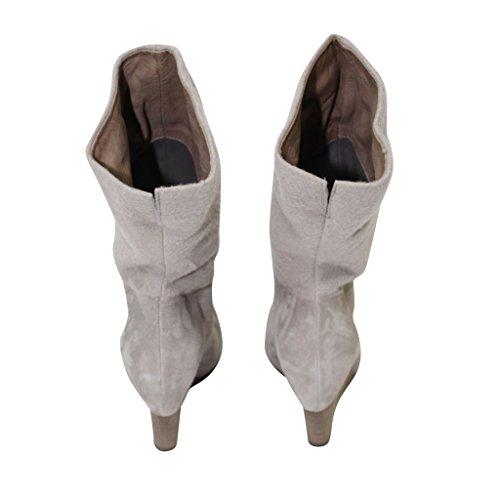 Grey Womens Ankle Dove Vic Flannel Wedge Boot amp; Matié Suede OwxfqaZ