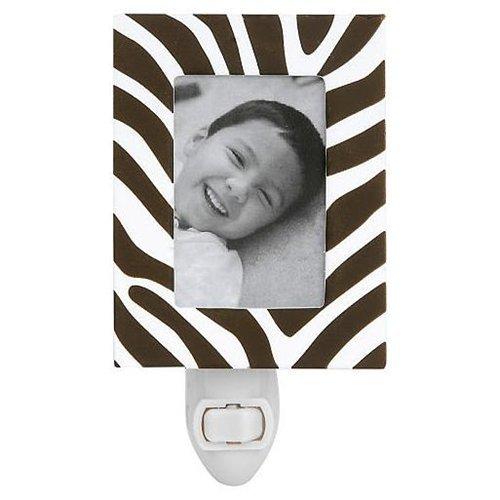 - Little Boutique Decorative Night Light Zebra Frame