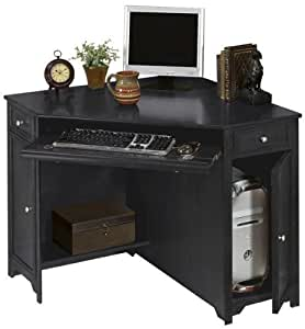 Oxford 50 W Corner Computer Desk 30 Hx50 W Black Kitchen Dining