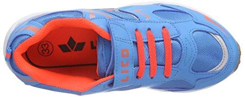 Lico Bob VS - Zapatillas deportivas para interior de material sintético Niños^Niñas azul - Blau (Blau/Orange)