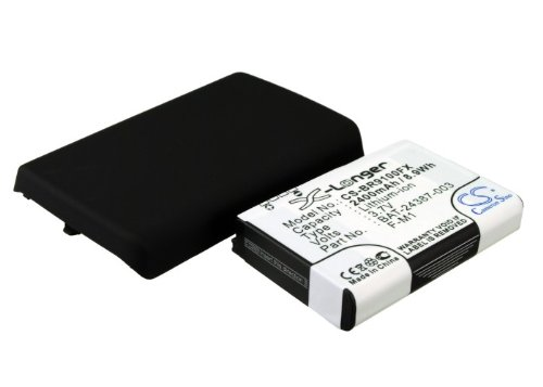 - Extended Battery for Blackberry Pearl 9100 (With Back Cover)