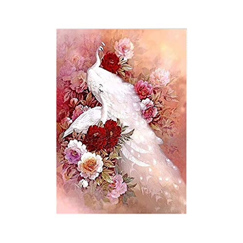 Lemoning❤5D Embroidery Paintings Rhinestone Pasted DIY Diamond Painting Cross Stitch Full ()