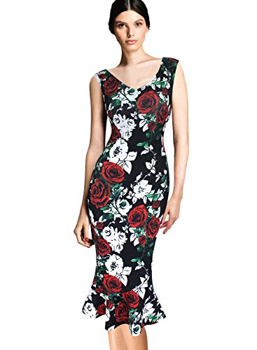 Vfemage Womens Cocktail Bodycon Mermaid