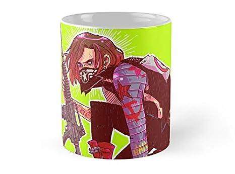 Amazon.com: Taza de soldado de invierno, 325 ml, con ...