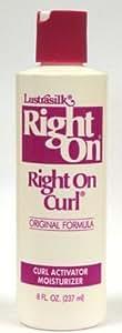 Lustrasilk Right on Curl Activator & Moisturizer, 8 Oz (Pack of 3)
