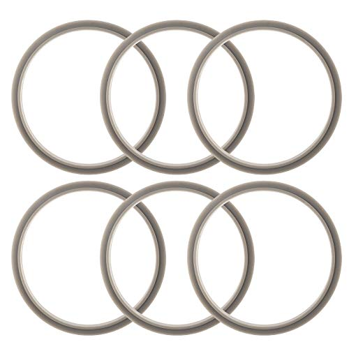 ELEFOCUS Gaskets for Nutribullet 900W and Pro - Pack of 6 Replacements ()