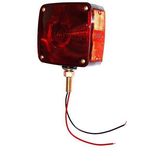 DJS Tractor Parts / Rectangular Fender and Cab Mount Warning Light - AB-546D