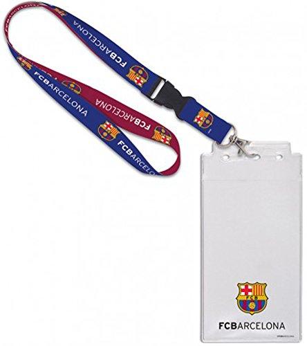 WinCraft FC Barcelona FCB Premium Lanyard Credential ()