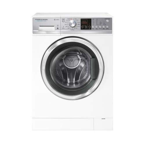 Fisher Paykel WH2424F1 24 Inch Front Load Washer with 2.4 cu. ft. Capacity, 13 Wash Cycles, 61 LL RPM, Steam Cycle in White