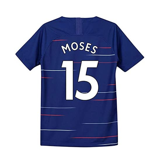 ANHPI-Jersey Victor Moses # 15 Maillot de Foot Homme - Short Sleeve Sport Maillots T-Shirt-Fans Shirts