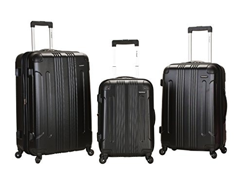 rockland-luggage-3-piece-abs-upright-luggage-set-black-medium