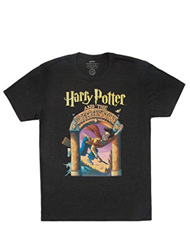 Crew Screen Print T-shirt - Out of Print Harry Potter and The Sorcerer's Stone Unisex T-Shirt X-Small