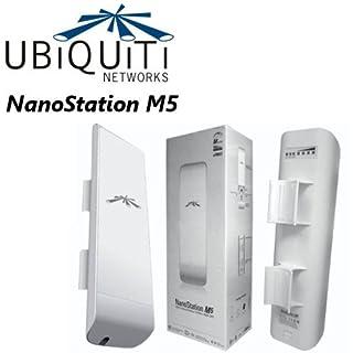 Ubiquiti Nanostation NSM5, 5GHz, 802.11a/n Hi-power 20 dBm Minimum, 2x2 MIMO AirMax TDMA PoE Station (B0049AVWAO)   Amazon price tracker / tracking, Amazon price history charts, Amazon price watches, Amazon price drop alerts