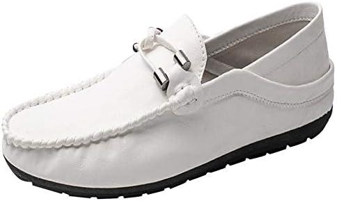LuckyGirls Zapatos para Hombre Zapatillas de Estilo Británico Casual Calzado de Planos Transpirables Informales Bambas para Perezoso Mocasines Náuticos: ...