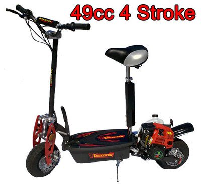 Amazon Com Brand New 2015 Elite 4 Stroke 49cc Gas Motor Scooter
