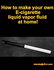 """Make the switch from traditional smoking to Vaporizing!You can """"smoke"""" vapor anywhere - hospitals, doctor's offices, in your carpool, and more!Learn how to make your own electronic cigarette vapor liquid for use in cartridge refills! Easily, ..."""