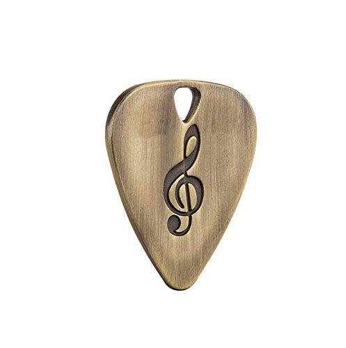 Forfar Rosepoem 1 Stück Plektren Edelstahl E-Gitarre Plectrum Plectron Professionelle Saiteninstrumente
