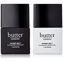 butter LONDON Patent-Gel Nail Top & Tails Set, Topcoat & Basecoat