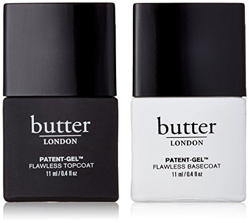 butter LONDON Patent-Gel Nail Top&Tails Set