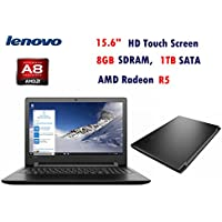Lenovo IdeaPad 110 Touch Laptop-15.6, Touch Screen, AMD A8-7410, 8GB Memory, 1TB Hard Drive, Windows 10
