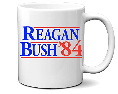 reagan bush mug - 5