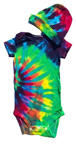 Blue Mountain Dyes LLC Tie Dye Infant Body Suit (Small)