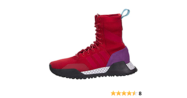 varilla hipoteca Agricultura  Amazon.com | adidas Men's Originals AF 1.3 PK Primeknit Boot  RED/Purple/Black | Boots