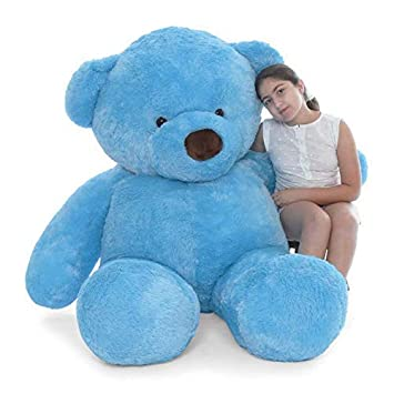 Lovebug Cute Bootsy Sky Blue 90 cm 3 feet Huggable and Loveable for Someone Special…