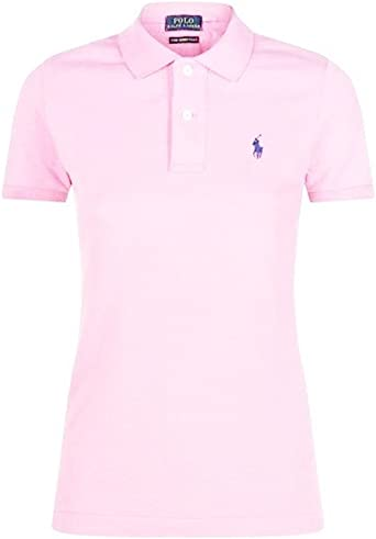 Ralph Lauren - Polo - Polo - para Mujer Carmel Pink Small: Amazon ...