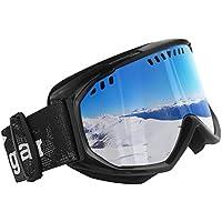 Unigear Ski Goggles Anti-fog Snow Snowboard OTG Goggles