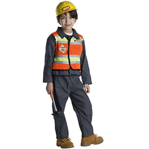 [Kids Construction Worker Costume] (Man Construction Worker Costume)