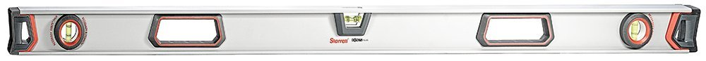 Starrett Exact Plus KLIXP48-1-N Aluminum I-beam Magnetic Level with 3 Plastic 360° Vials, 48'' Length by Starrett