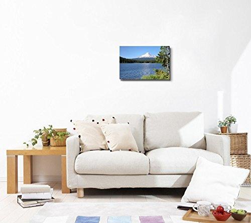 Beautiful Scenery Landscape Trillium Lake and Mt Hood Oregon Wall Decor