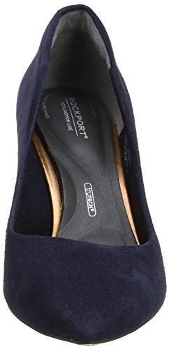 Closed Rockport Luxe Motion Heels Valerie Women's Toe Blue Total Navy Pump PxPO7q1