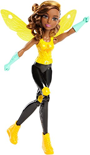 (Mattel DC Super Hero Girls Training Bumble Bee Action Figure,)