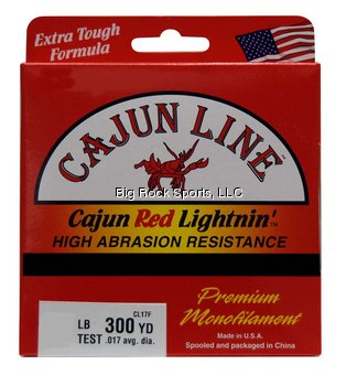 Cajun Red Lightnin Fishing Line - 4