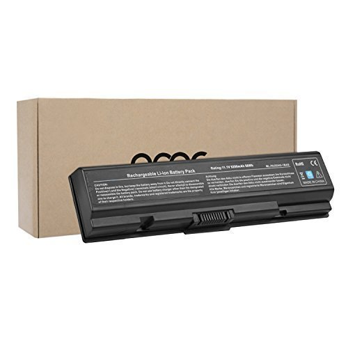 OMCreate New Laptop Battery for Toshiba PA3534U PA3727U-1BRS PA3535U-1BRS PA3534-1BRS PA3533U-1BRS, Toshiba Satellite L305 A200 A205 L505D L500 A350 L555 L505 / Toshiba Dynabook L300 (Toshiba Computer Battery)
