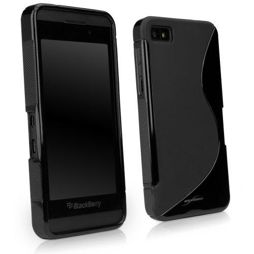 BlackBerry Z10 Case, BoxWave [DuoSuit] Ultra Durable TPU Case w/ Shock Absorbing Corners for BlackBerry Z10 - Jet Black