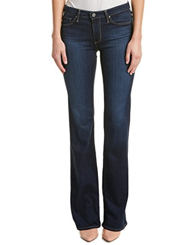AG Adriano Goldschmied Women's The Angel Mid Rise Boot Cut, Midnight Swim, 30