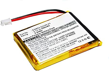 subtel/® Bater/ía Premium Compatible con Siemens Gigaset L410 Pila reemplazo sustituci/ón F39033-V328-C901,S30852-D2240-X1,V30145-K1310-X448 bateria de Repuesto 250mAh