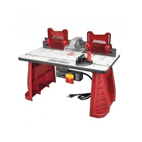 Portable Router Table (Router Table Craftsman Perfect For Woodworking In Your Garage Or Work Shop Amazing Wood Working Tables For Your Tools)