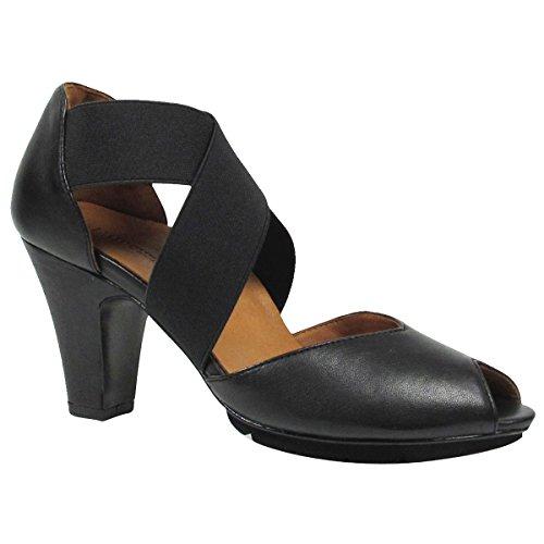 Lamour Soft Leather - L'Amour des Pieds Women's Fanchone 11 Black