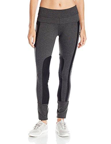 漂流マージの面ではBlanc Noir Women's Performance Mesh Paneled Legging Charcoal X-Small [並行輸入品]