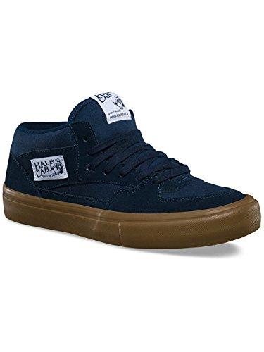Fourgonnettes Demi Cab Pro Mens 6.5 / Femmes 8 Bleu Marine Chaussures De Skate Gomme