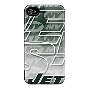 Shock Absorption Cell-phone Hard Covers For Iphone 6plus With Unique Design Realistic New York Jets Image JasonPelletier