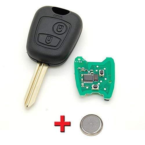 Peugeot modelos Peugeot Expert y Partner Funda para llave de coche y placa electr/ónica programable