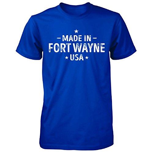 Made In Fort Wayne City, Usa. Cool Gift - Unisex Tshirt Royal Adult 5XL (Halloween City Fort Wayne)