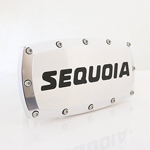 Toyota Sequoia Engraved Billet Aluminum Tow Hitch Cover