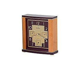 Bulova Montour Table Clock with Temperature and Humidity